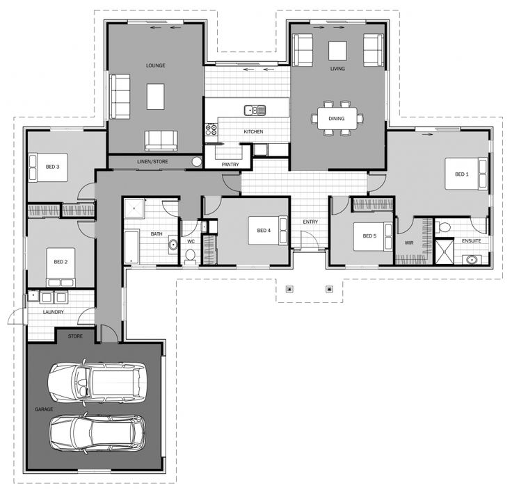 1591 best New Zealand floor plans images on Pinterest   Floor ...