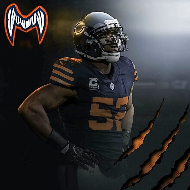 Khalil Mack Chicago bears football, Chicago sports teams