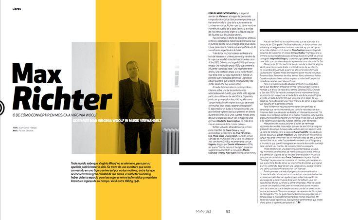 Literatura: Max Ritcher   #MaxRitcher #MinimalDesign #GermanyDesign #Germany #Minimal #RevistaMarvin #Marvin #ArtDirection #Magazine #EditorialDesign #Editorial #GraphicDesign