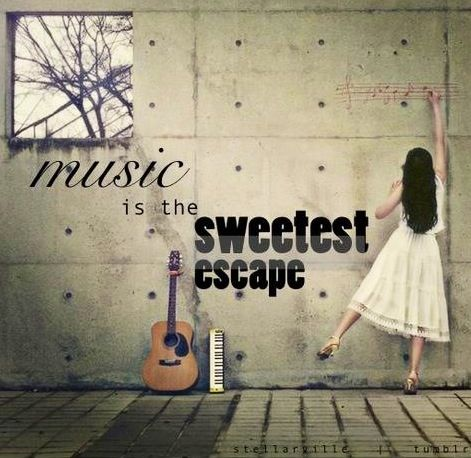 #music #quoteInspiration, Life, Happy End, Sweets Escape, Dresses, Music Quotes, Art, Sweetest Escape, Design