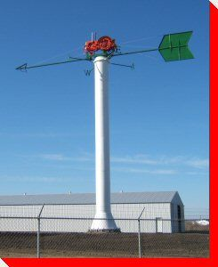 World's Largest Tractor Weather Vane - Westlock, Alberta