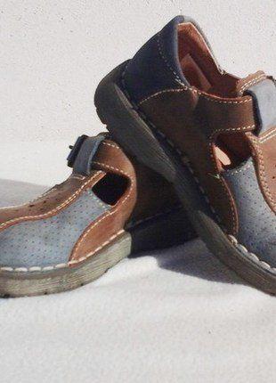 À vendre sur #vintedfrance ! http://www.vinted.fr/mode-enfants/chaussures-bottines/38397652-chaussures-en-cuir-de-noel-pour-garcon-marron-25