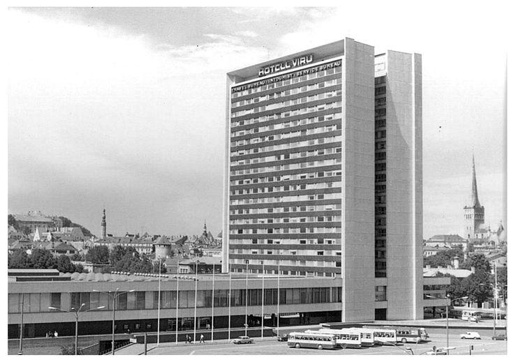 Hotelli Viru, Tallinna.
