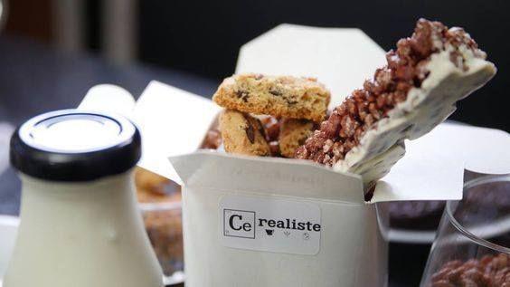 Miel Pop's, Chocapic ou Lion, vous avez choisi ? Foncez au 1er bar à céréales : Cerealiste ! A vos bols ;) !