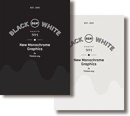 Palette No. 1 – Black & White - New Monochrome Graphics (book)