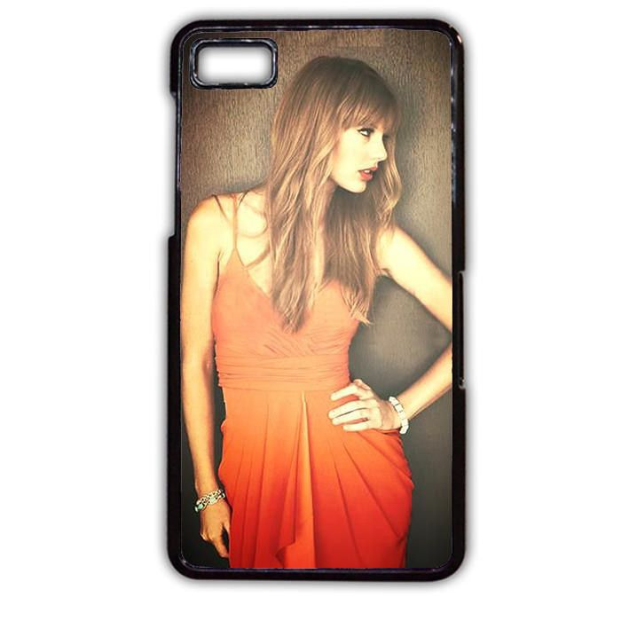 Taylor Swift With Sweet Dress Phonecase Cover Case For Blackberry Q10 Blackberry Z10