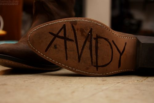 andy toy story woody i wanna put this on the bottom of my boots!: Shoes, Idea, Toy Story, Movies, Things, Disney, Toystory Cowboyboot, Boots