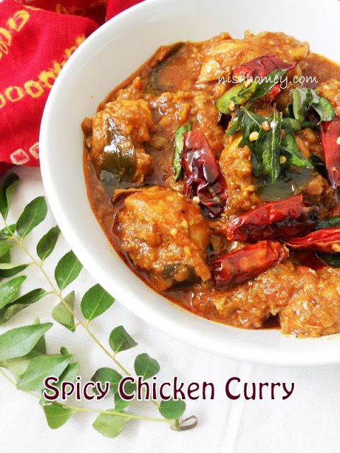 Spicy Chicken Curry, tutorial on how to make Indian chicken curry with basic ingredients from your pantry