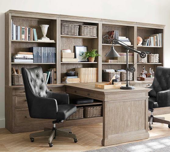 Livingston 140 Quot Peninsula Desk Office Suite In 2020 Home