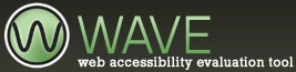 WAVE is a free web accessibility evaluation tool provided by WebAIM. It is used to aid humans in the web accessibility evaluation process. Rather than providing a complex technical report, WAVE shows the original web page with embedded icons and indicators that reveal the accessibility of that page.