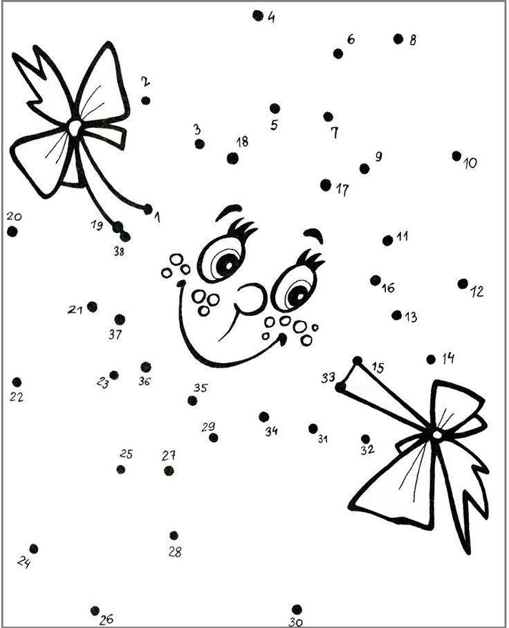 17 Best Images About Dibujos Infantiles Uniendo Numeros On