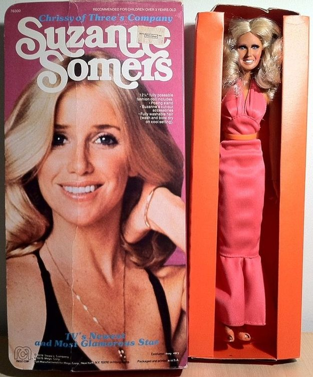 Suzanne Somers as Chrissy Snow | 9 Totally Awesome And Kinda Weird 1970s Celebrity Dolls