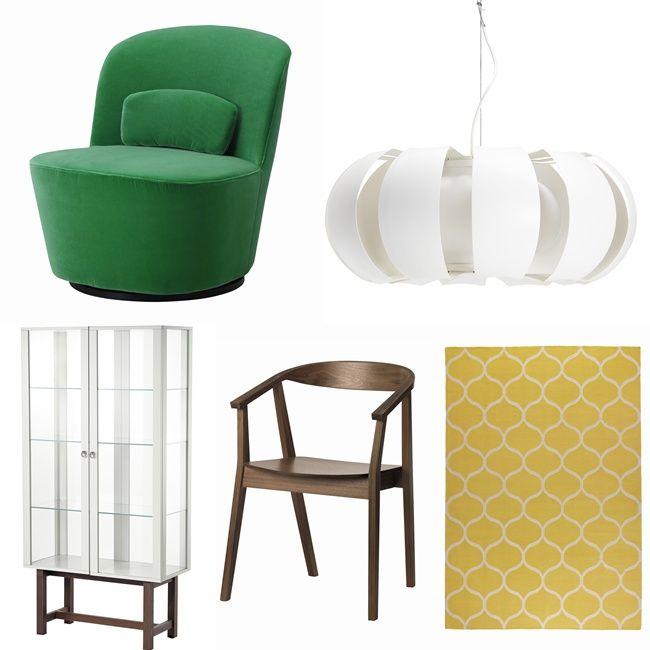 Vitrin Skap - IKEA Stockholm Collection - New April 2013