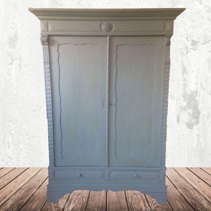 17 beste idee n over kast opknappen op pinterest beschilderd porseleinen hok servieskast - Redo houten trap ...