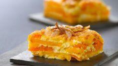 Rezept: Kürbis-Süßkartoffel-Gratin