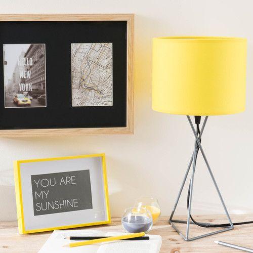 17 meilleures id es propos de abat jour jaune sur pinterest abat jour de chevron lampe. Black Bedroom Furniture Sets. Home Design Ideas