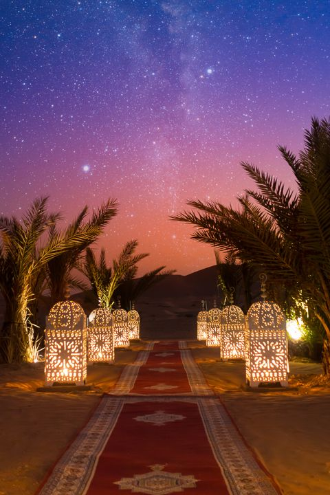 Morocco Bucket List: Spend a Night in the Sahara Desert!!! Take a sunset camel r…