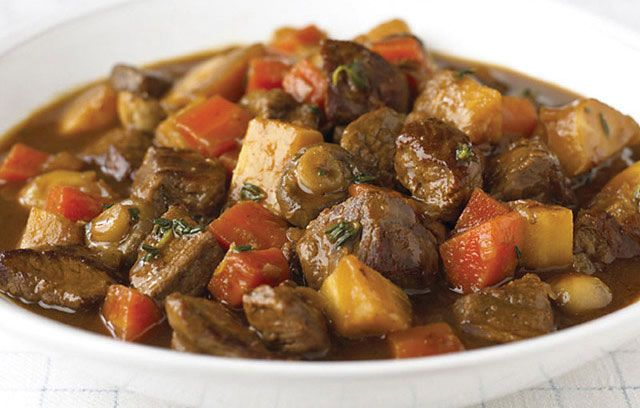 Beef and Parsnip Stew