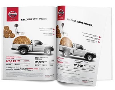 Nissan Patrol Pickup 3.0DI 4x4 print advertisement