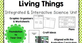 Integrated and Interactive Science Unit on Living Things for Years F/1/2 A suggested unit from Australian curriculum lessons and can be varied to suit higher grades. Its main focus is on Living things.