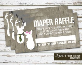camo invitations for a gender reveal party | ... download diaper raffle ca mo gender reveal tickets 3 50 usd meghilys