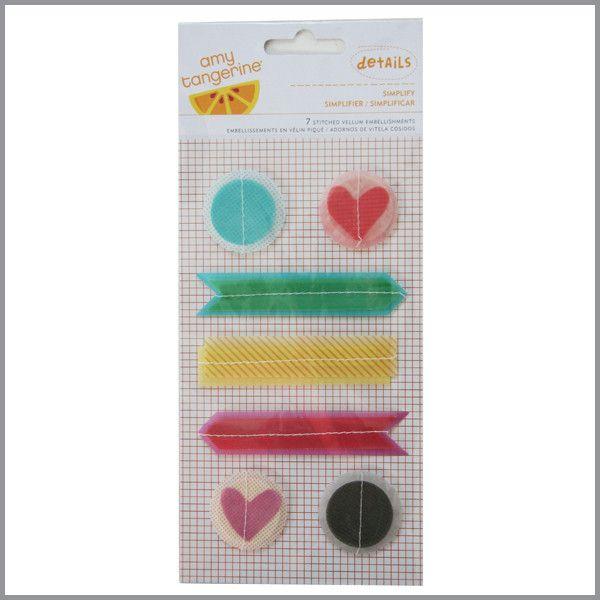 Stickers de vitela - 7 piezas