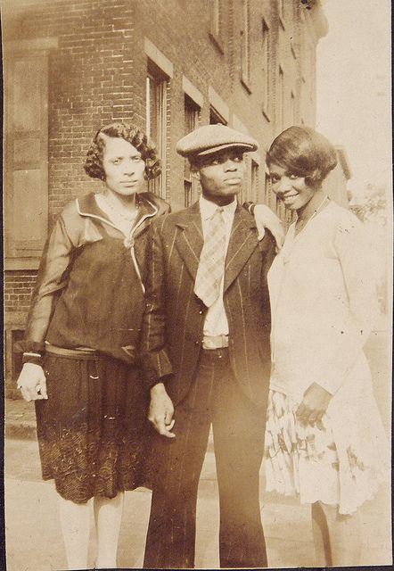 Stylish trio, c. 1920s
