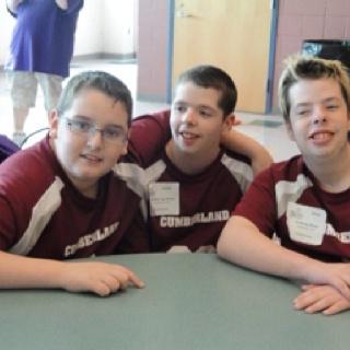 Basketball 2011. Nick, Timmy and Anthony.
