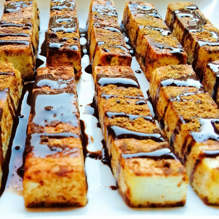 Cinnamon french tofu sticks, tofu for dessert, dessert tofu, cinnamon tofu, vegan tofu dessert recipe, vegan dessert recipe