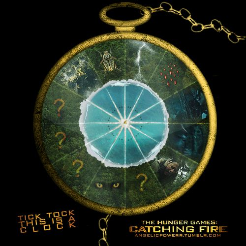 the arena in catching fire�the traps set off by tributes