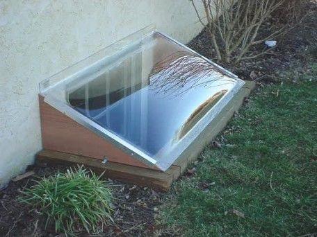 Window Well Covers keep your basement dry and comfortable.   www.WindowBubble.com   #finishedbasement #windowbubble