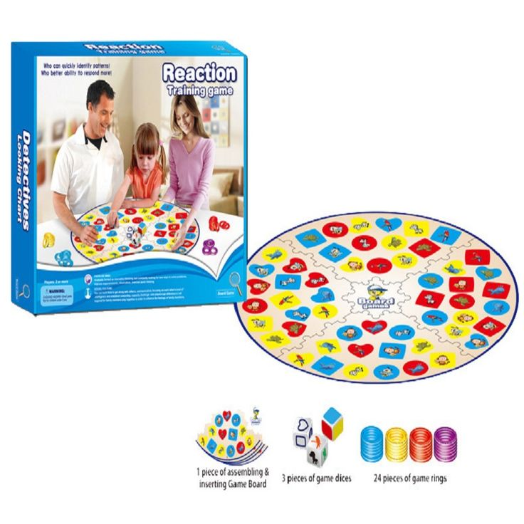 Education Training Intlligence Toys Table Board Game Parent Child Family  Game Colorful Children Patry Game