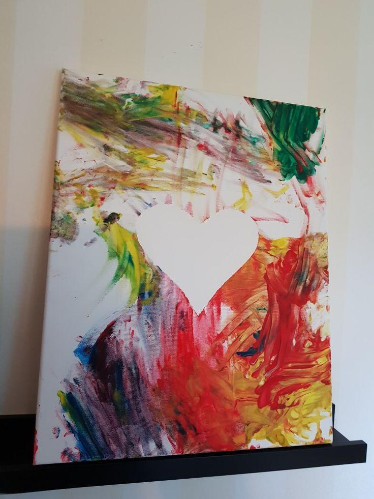 Emil har målat