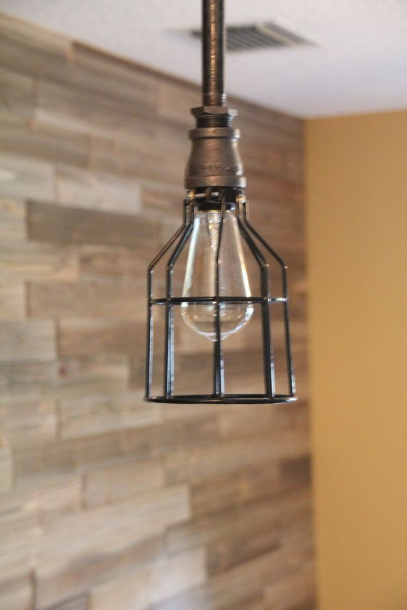 wire light cage for hanging lights, edison bulb, industrial lighting Canopy Lighting Designs