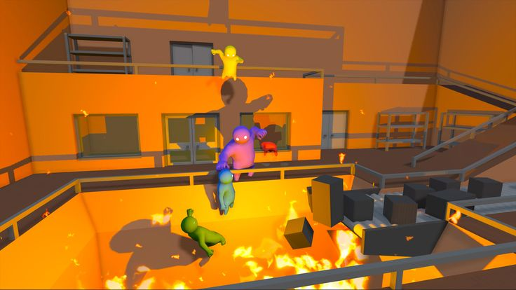 GANG BEASTS (TRAILER) #gangbeasts #trailer #videogame