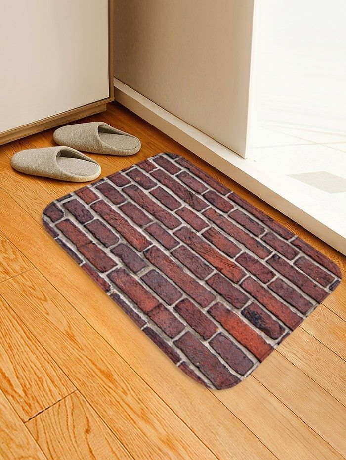 Brick Wall Pattern Soft Anti Skid Area Rug Rugs To Put On Wall