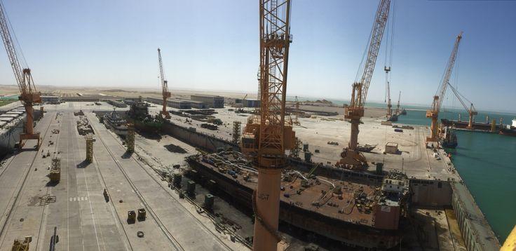 Dock 2 at Oman Drydock Company