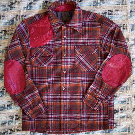 Modified Pendleton Wool Hunting Shirt by KiShoTen on Etsy, ¥18000