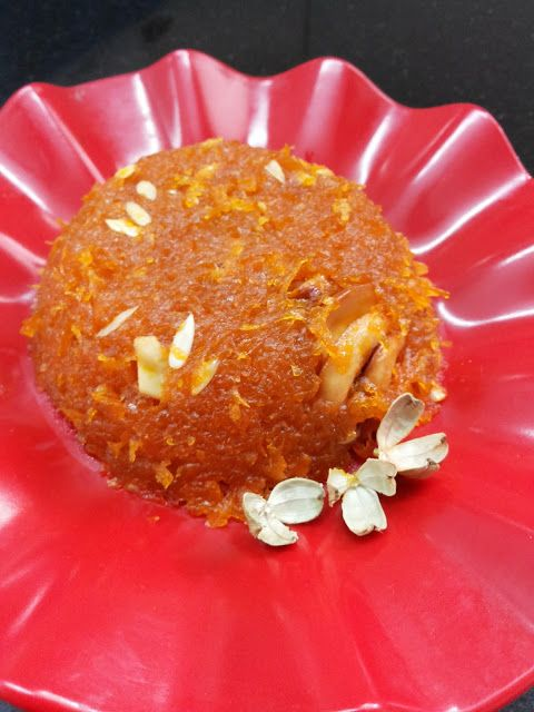 Eat Pray and Cook: Carrot Halwa