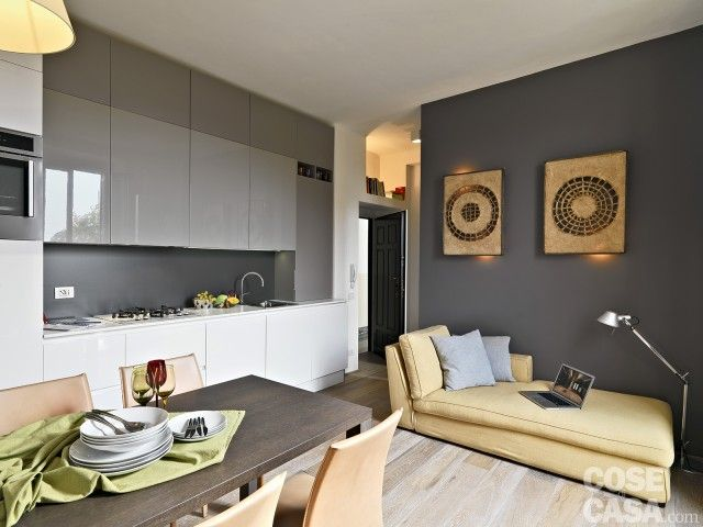 68 best soggiorno images on pinterest | ad hoc, interior and open ... - Soggiorno Open Space Piccolo 2
