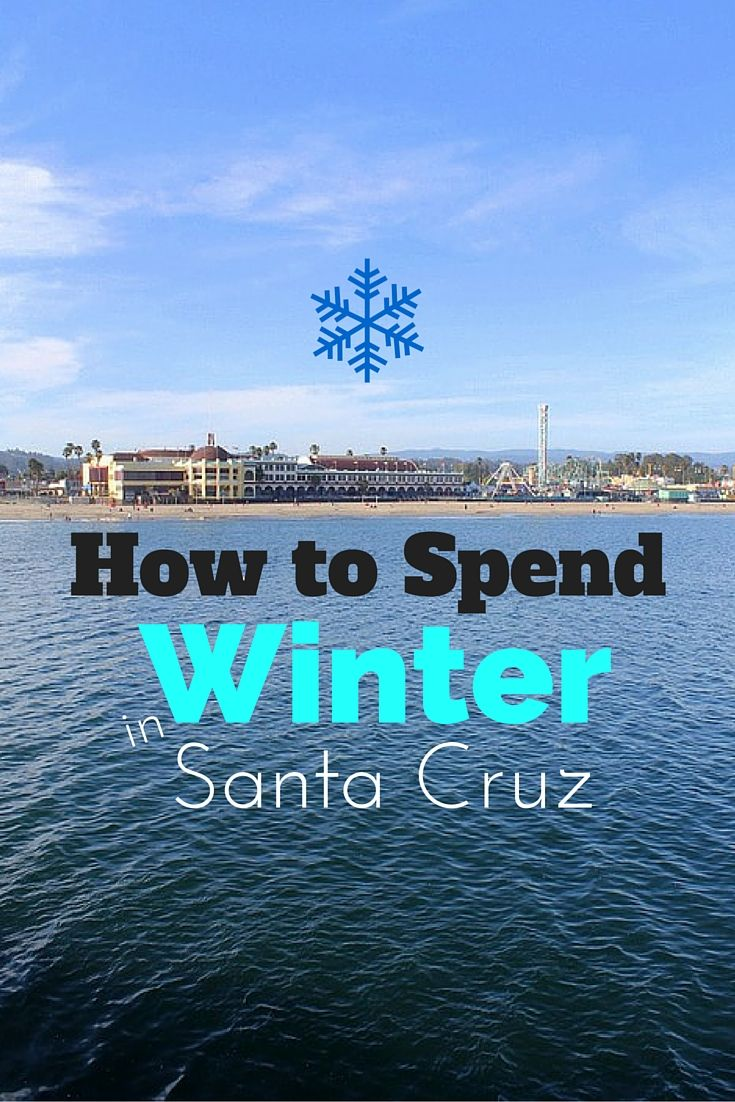 How to Spend Winter in Santa Cruz, California