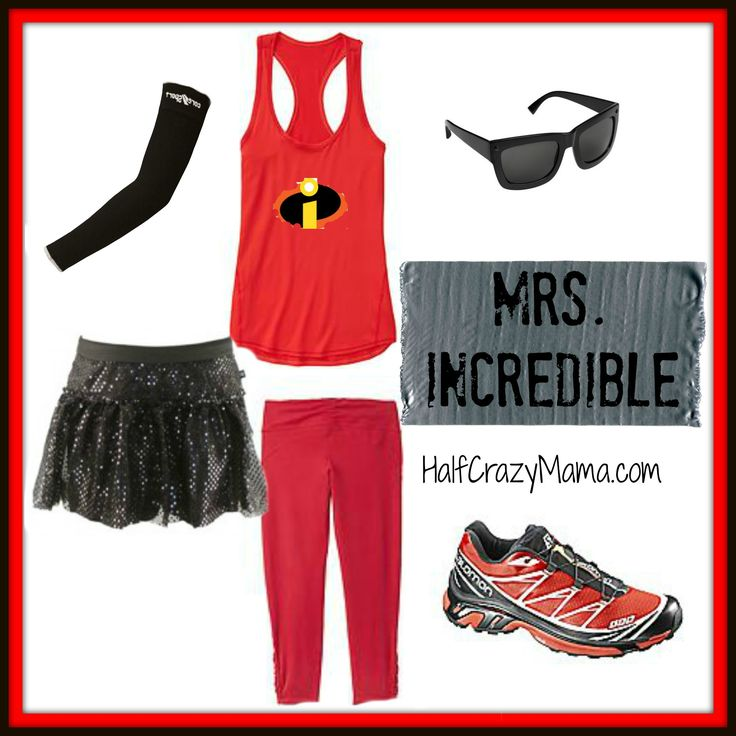Mrs. Incredible- Easy Disney Running Costume Ideas