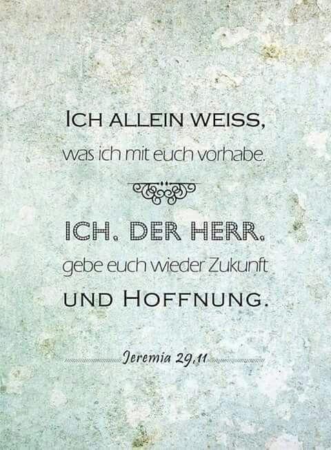 Jeremia 29,11