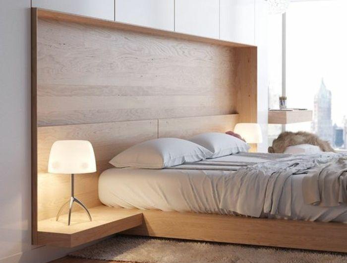 chambre-a-coucher-design-bois-clair-idee-deco-chambre-ado-tapis-marron-beige-sol-en-bois-clair-lampe-de-lecture