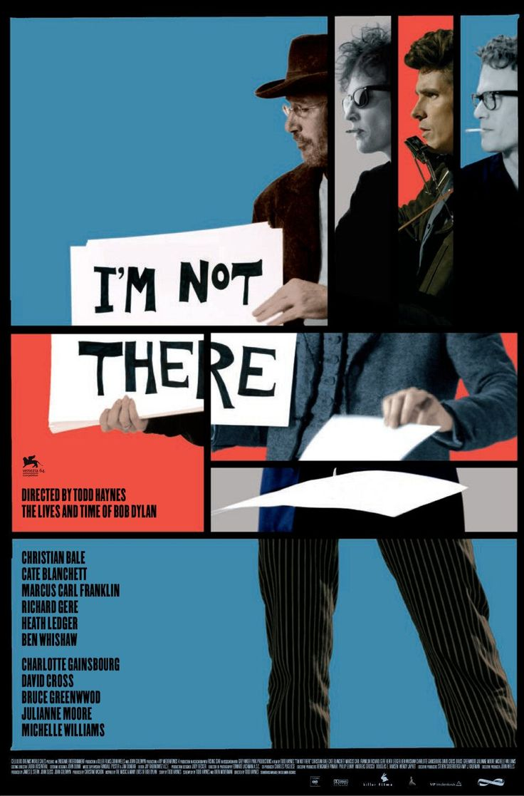 I'm Not There (2010) - US One Sheet
