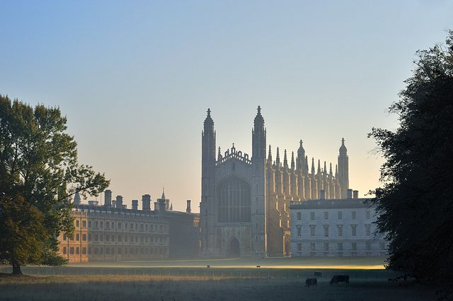 Kings College at Cambridge, England