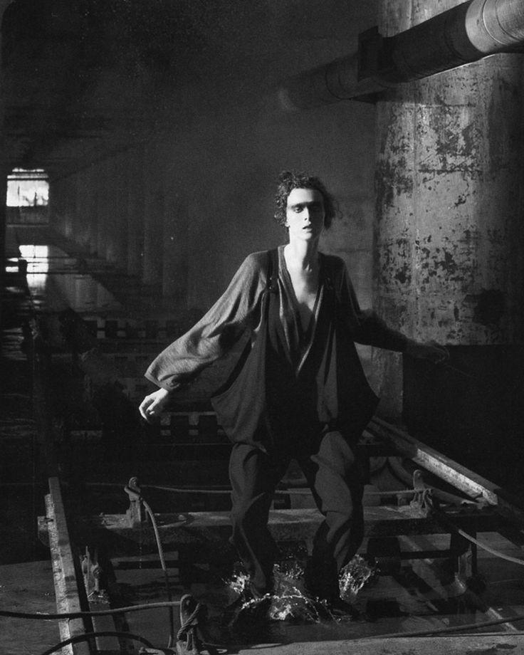 Karen Elson in Underworld by Steven Meisel, Vogue Italia October 2005