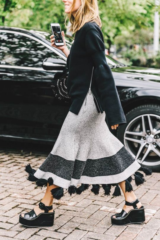 Beautiful maxi skirt!