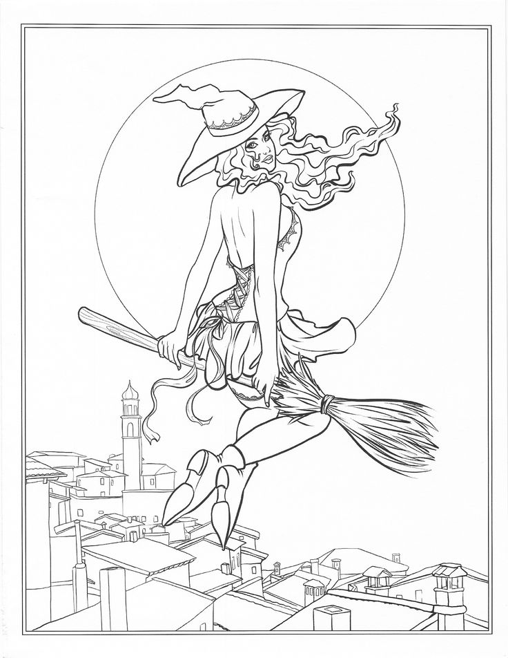 671 best Coloring pages to print  Fantasy images on Pinterest