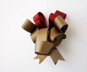 deer shaped ribbon